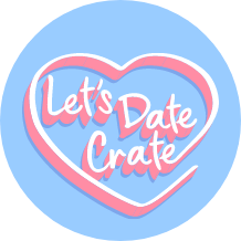 Let's Date Crate Logo