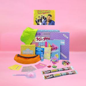 Date night box at home let's date crate 90s rewind